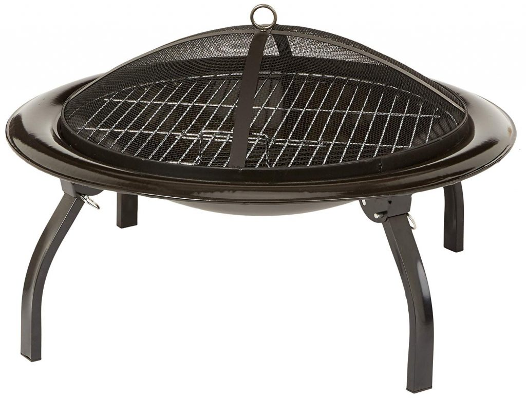 AmazonBasics 26-Inch Portable Folding Fire Pit Review