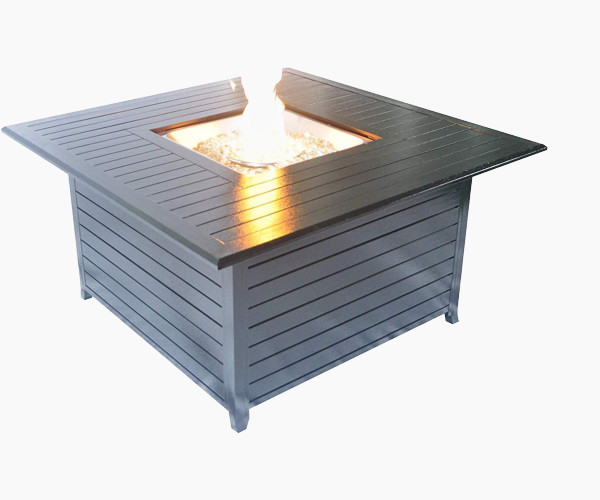 The 44.8 Inch Square Fire Pit Table by Legacy Heating
