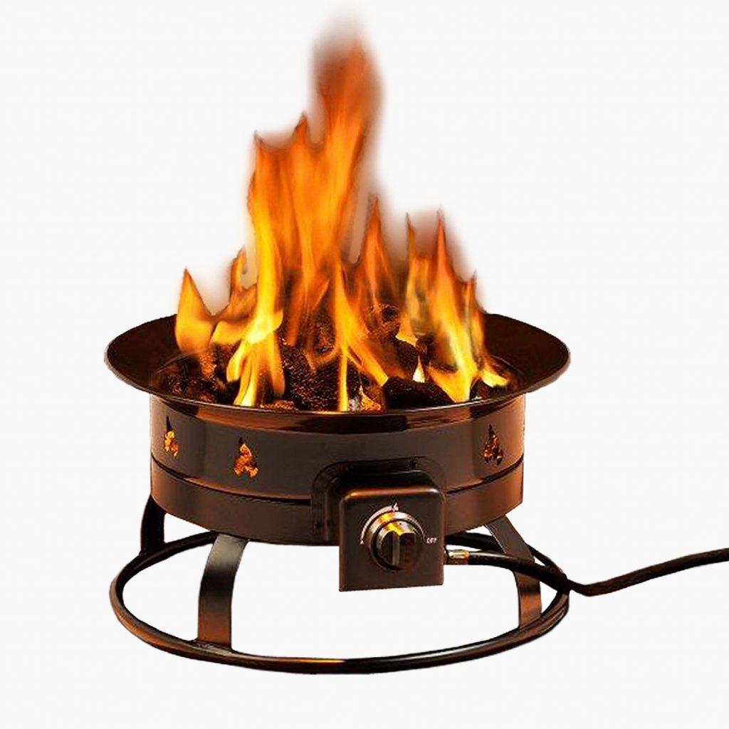 Heininger 5995 Portable Propane Fire Pit