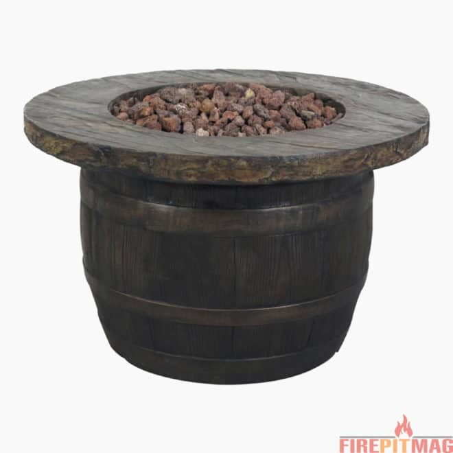 Bond Vineyard Propane Fire Pit