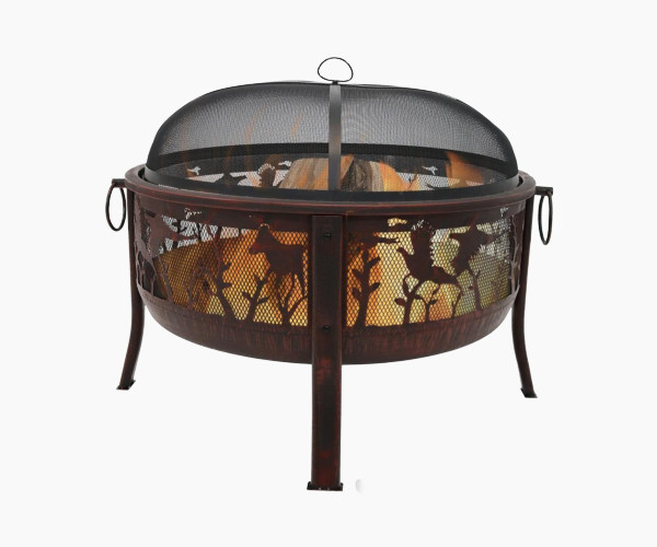 Sunnydaze Pheasant Hunting Outdoor Fire Pit