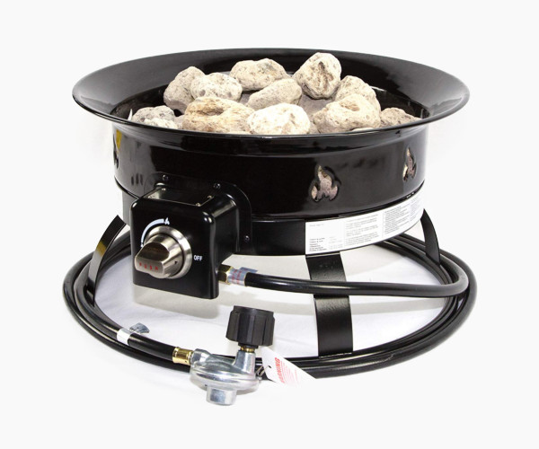 Heininger 5995 Portable Propane Outdoor Fire Pit