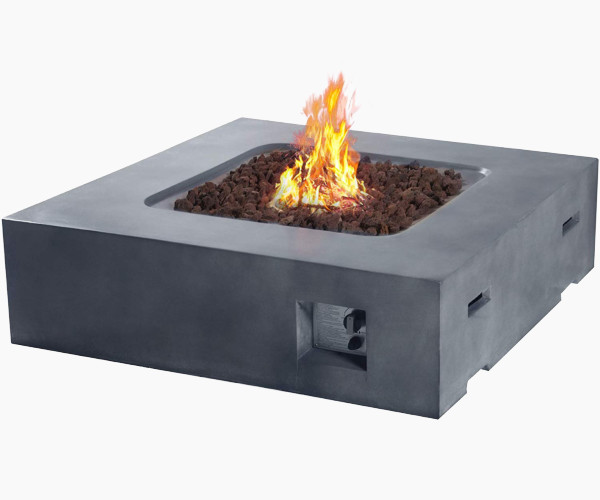 """Cloud Mountain 41.9"""" Outdoor Gas Fire Pit"""