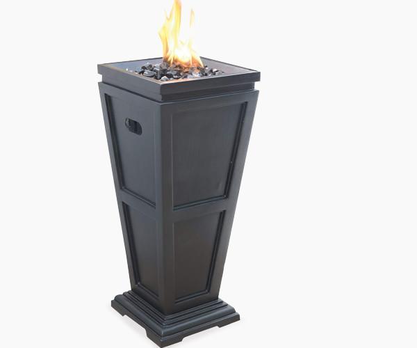 Uniflame Endless Summer LP Gas Outdoor Fireplace, Medium