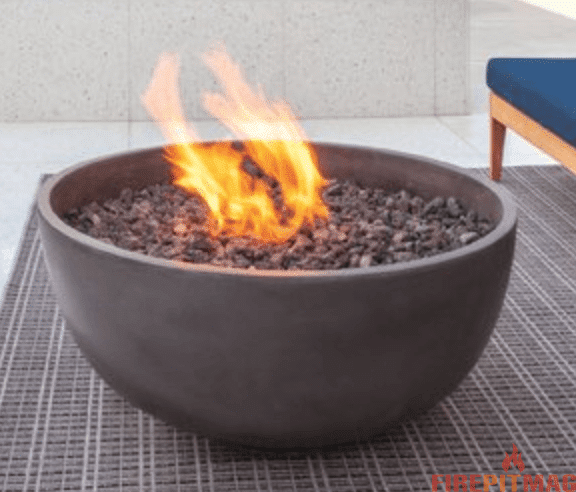 Poojari Concrete Propane Fire Pit by Red Barrel Studio