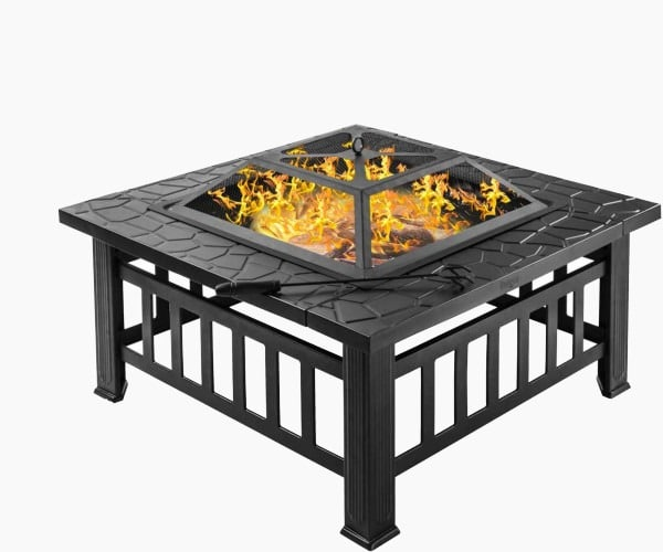 "Bonnlo 32"" - Best Large Fire Pit Under $100"