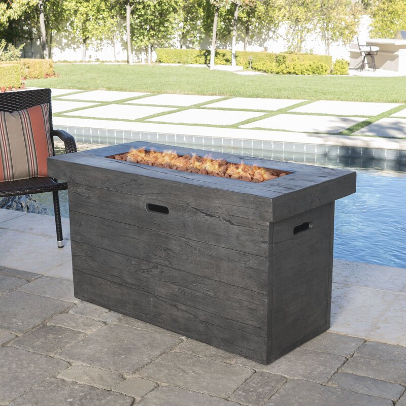 Ralph Polyresin Propane Fire Pit Table