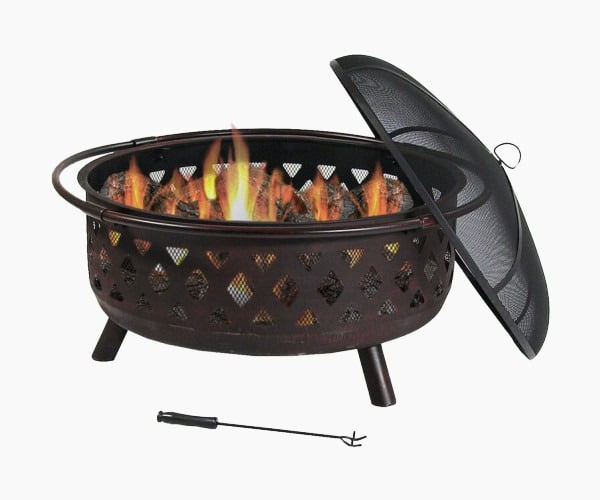 Maui Steel Fire Pit by Sol 72 Outdoor