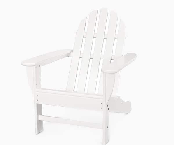 POLYWOOD AD4030WH Classic Outdoor Adirondack Chair