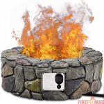 Wall Stone Propane Fire Pit by Loon Peak