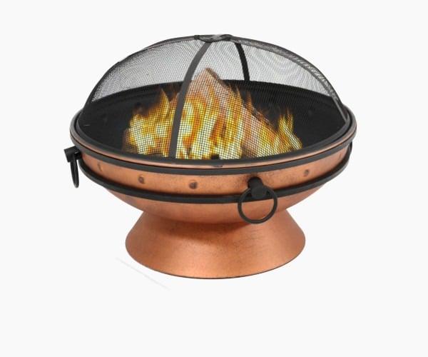 2. Sunnydaze - Best Large Copper Fire Pit Bowl