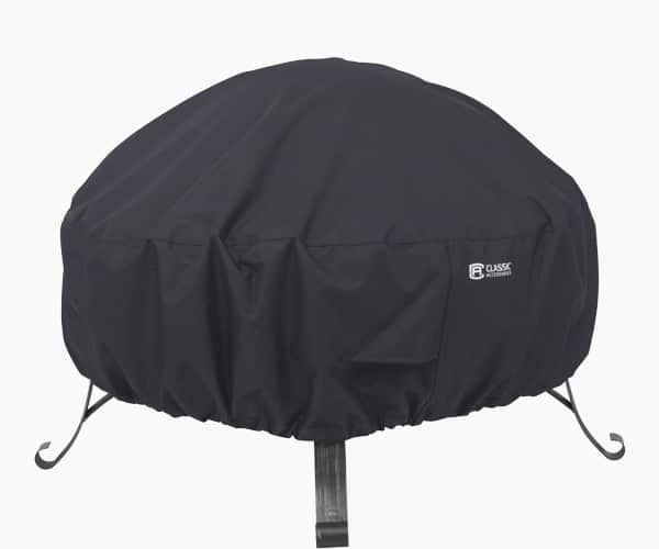 Classic Accessories Round Fire Pit Cover