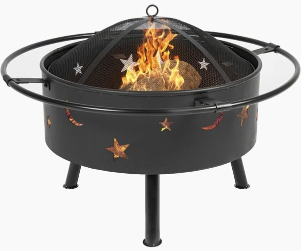 Best Choice Products 30in Outdoor Patio Fire Pit