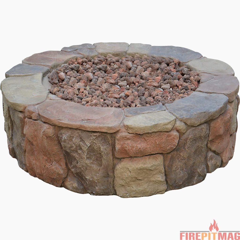 Bond 67456 Pinyon Gas Stone Look Fire Pit