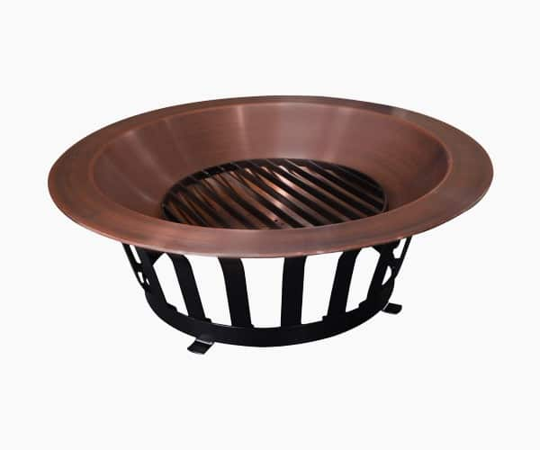 3. Titan - Best 40-inch Copper Fire Pit Bowl