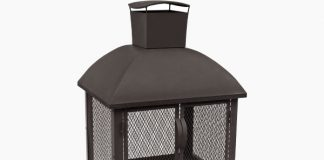 Landmann USA 25722 Redford Outdoor Fireplace