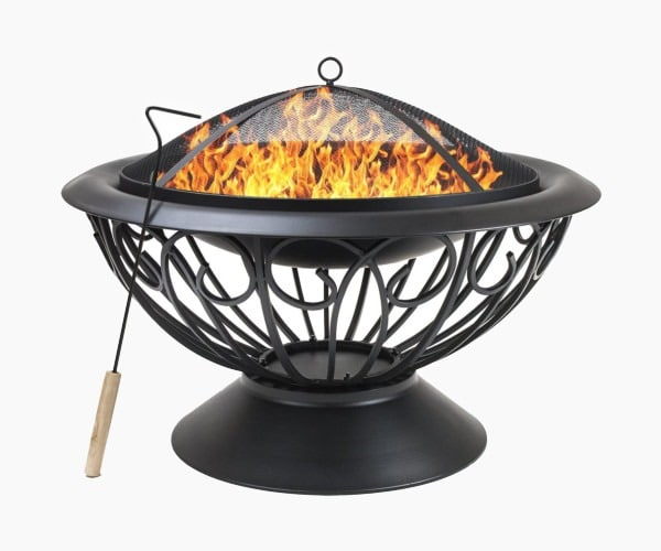 "Sorbus Fire Pit Large, 30"" Outdoor Fireplace"