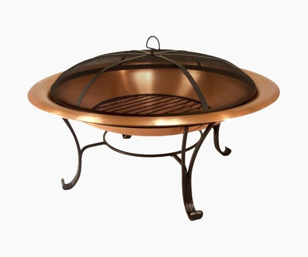 4. Catalina Creations - Best 30 inch Solid Copper Fire Pit
