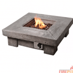 Retro Stone Stone Propane Fire Pit Table by Peaktop