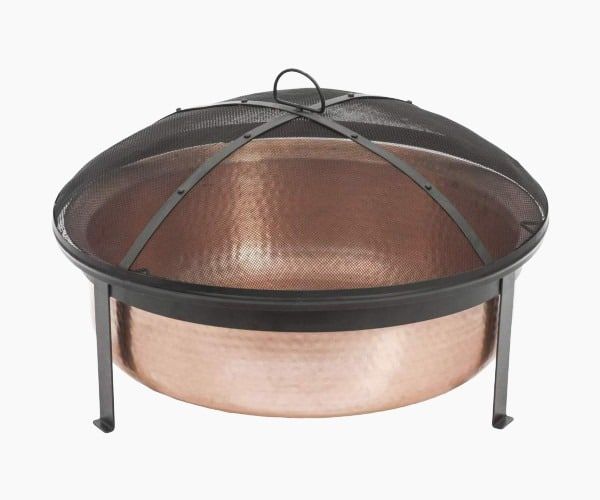 5. CobraCo - Best Hand Hammered 100% Copper Fire Pit