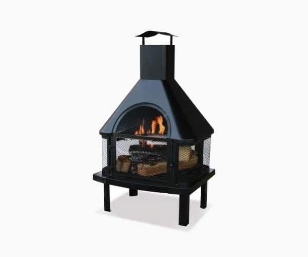 Blue Rhino 360 Degree Uni-Flame Outdoor Patio Firehouse Fire Pit