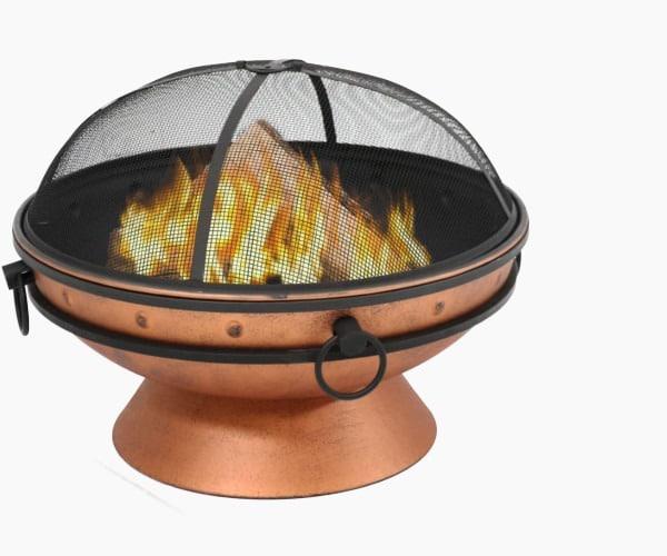 Sunnydaze Large Copper Fire Pit Bowl