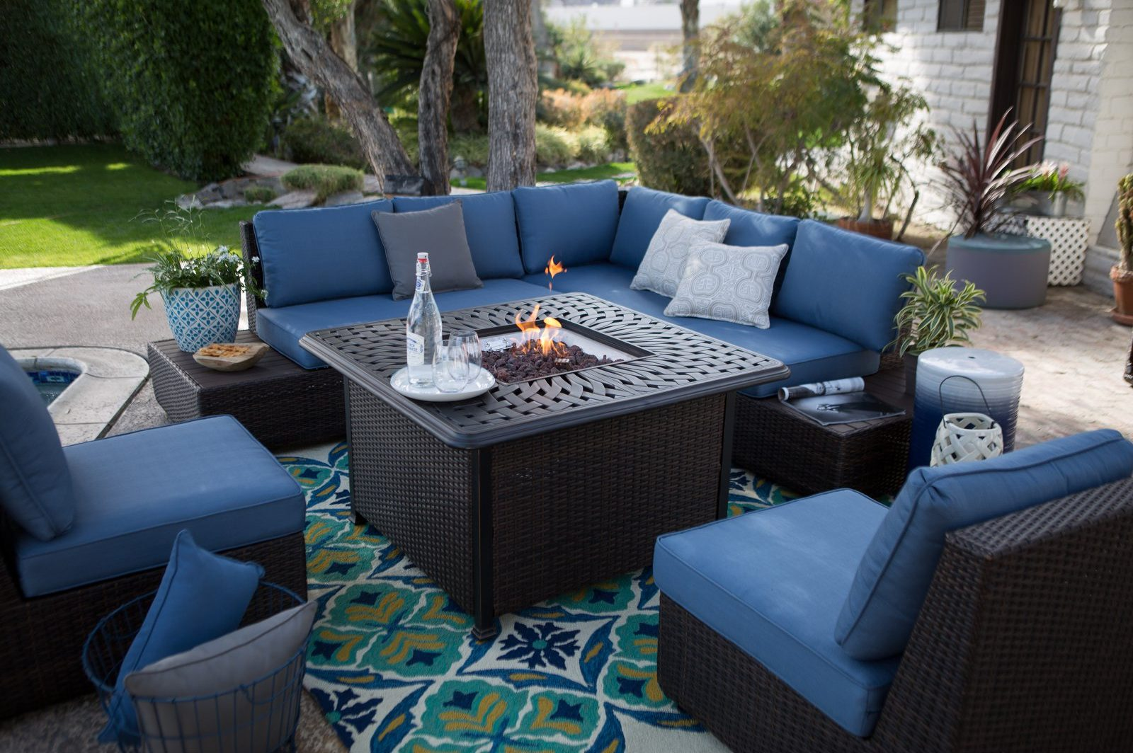 13 Best Fire Pit Table Sets Firepitmag