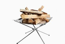 Rootless Portable Outdoor Fire Pit