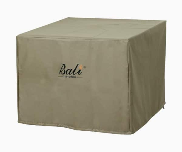 BALI OUTDOORS Square Durable Brown Fire Pit Cover