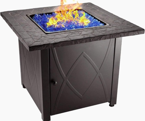 Endless Sumer Outdoor Propane Gas Fire Pit