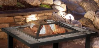 xPure Garden Steel Fire Pit Table Review