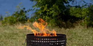Fire Sense Sporty Campfire Portable Gas Fire Pit Review