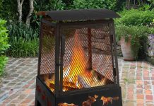 Landmann 25319 Haywood Wildlife Sturdy Steel Fire Pit Review