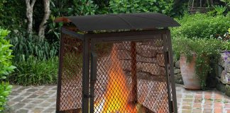 Landmann 25319 Haywood Wildlife Sturdy Steel Fire Pit Review