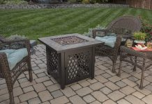 Endless Summer, GAD1429SP, Gas Outdoor Fireplace with Slate Mantel Review