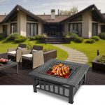 "Bonnlo 32"" Outdoor Fire Pit Review"