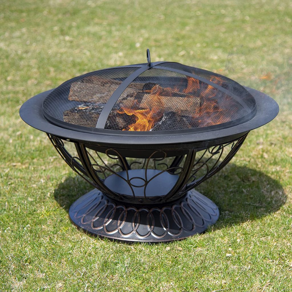 CobraCo FB8001 Aegean Steel Fire Pit Review
