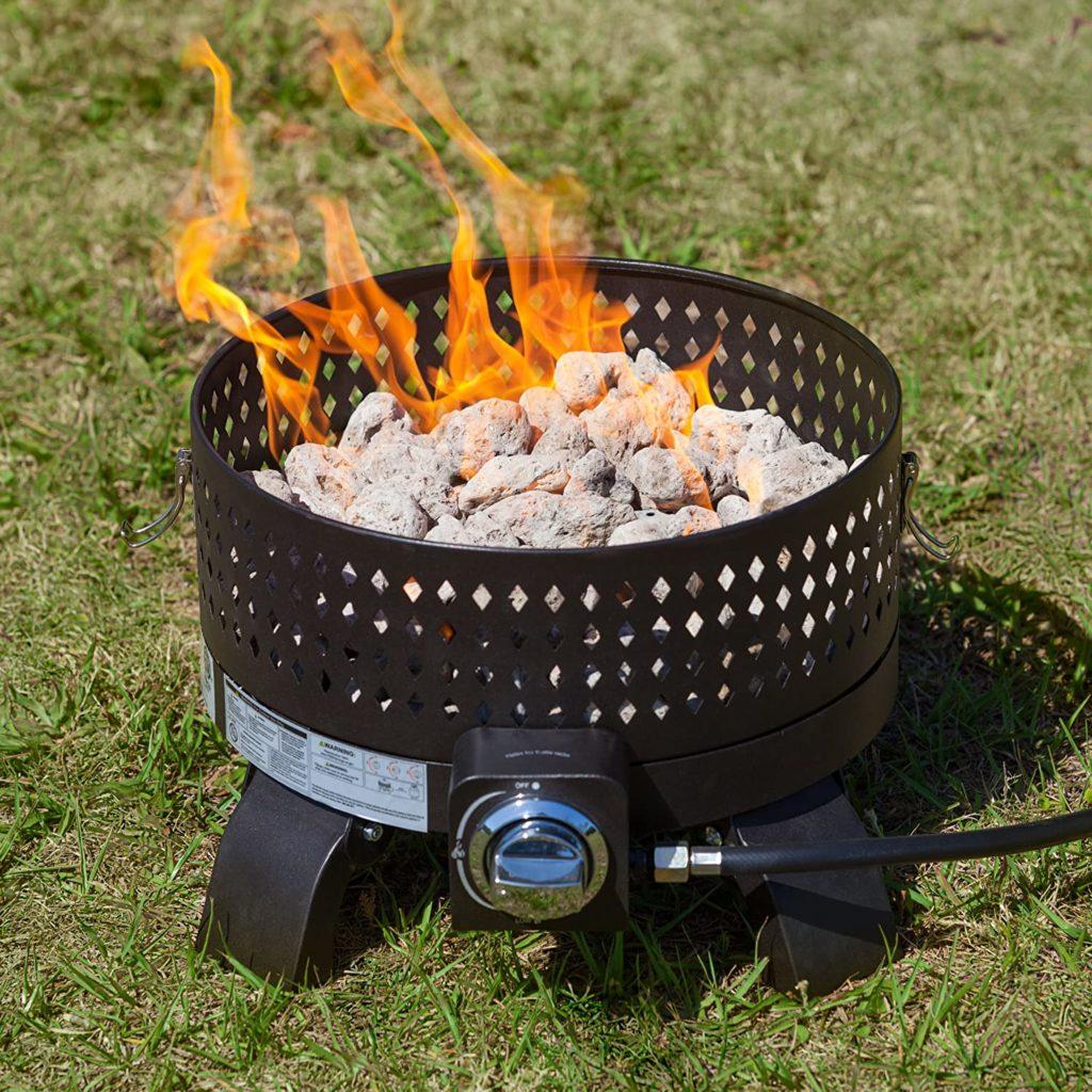 Fire Sense Sporty Campfire Portable Gas Fire Pit Review