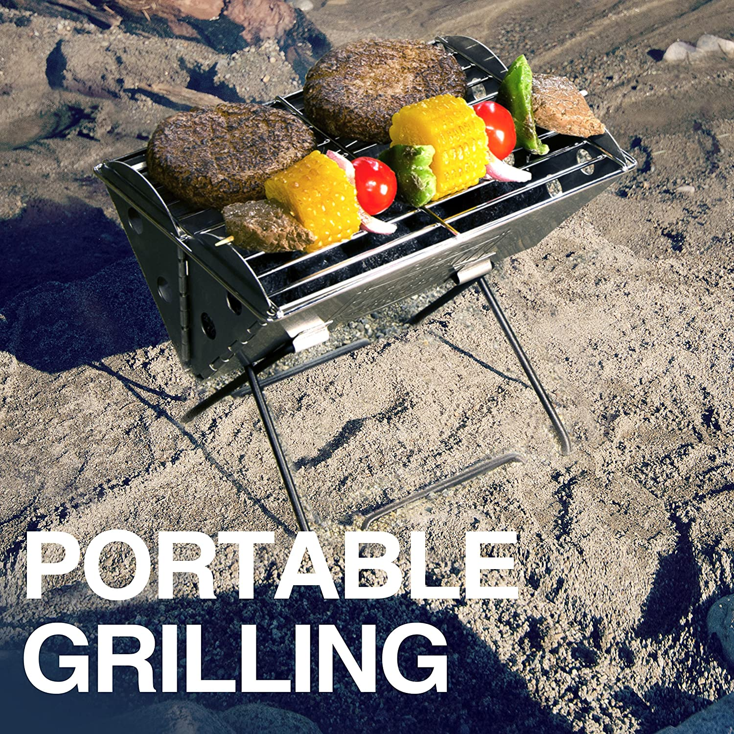 UCO Flatpack Portable Stainless Steel Grill and Fire Pit Review