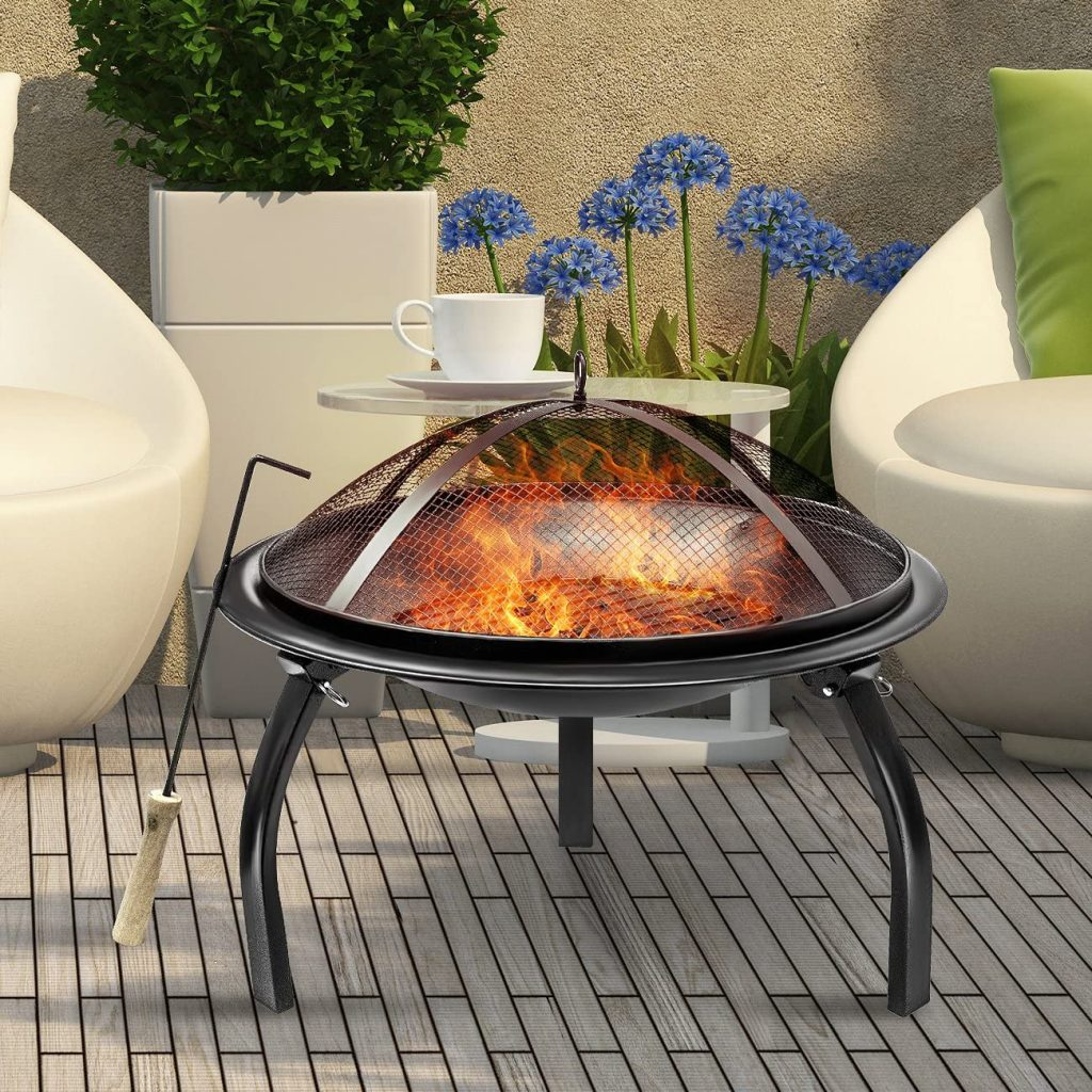 Sorbus Fire Pit With Foldable Legs Reviewed