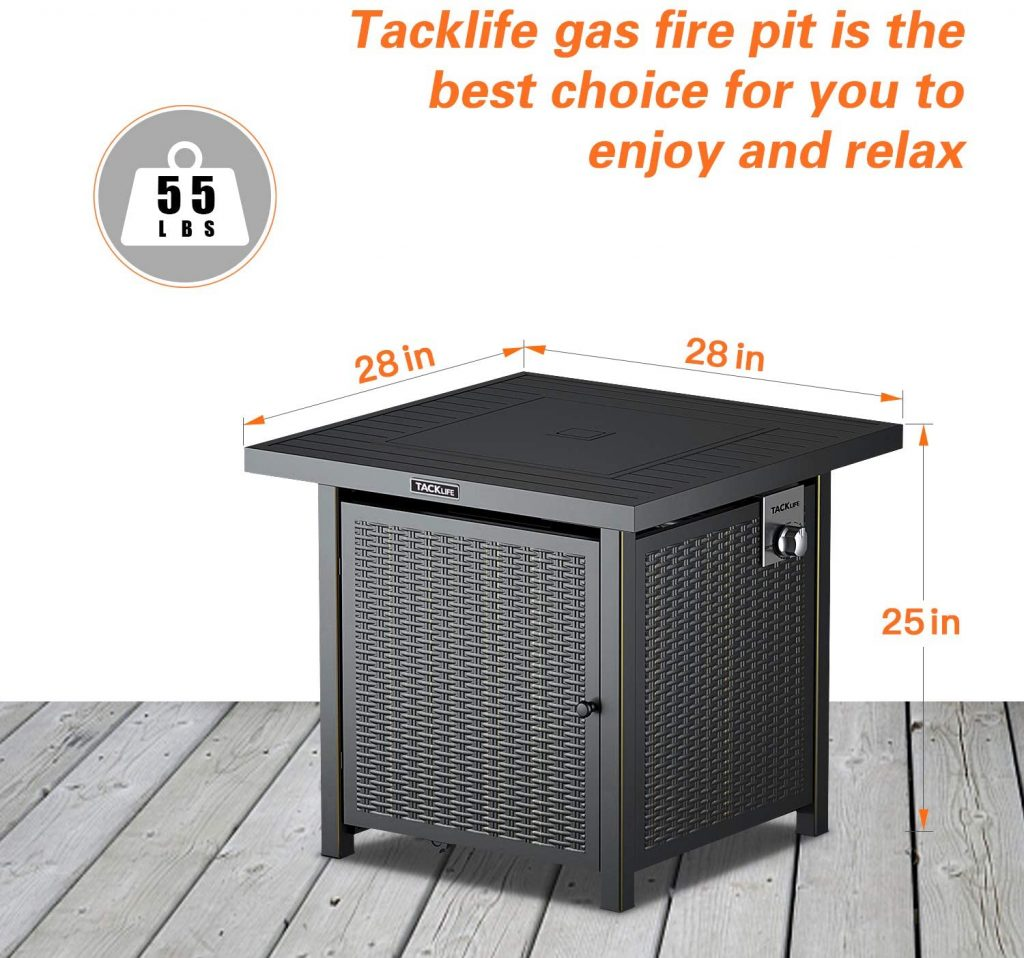 TACKLIFE Fire Table Review