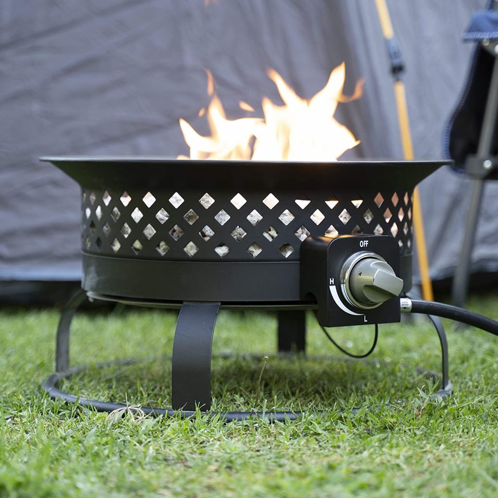Bond Manufacturing 67836 Aurora Steel Gas Firebowl Review