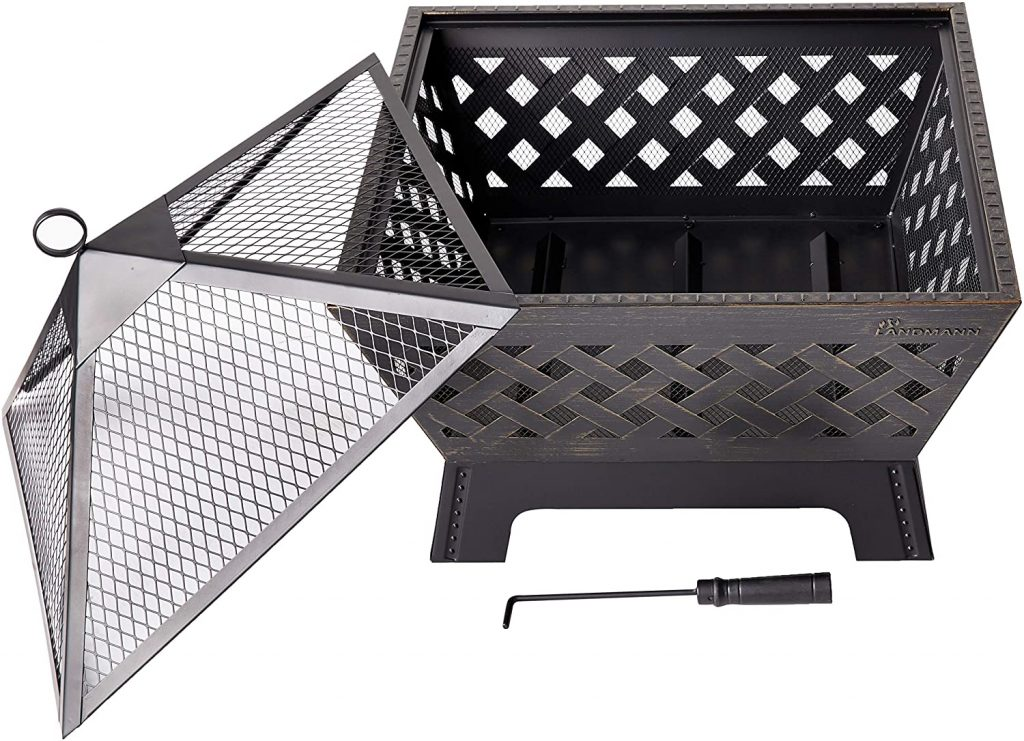 Landmann 25282 Barrone Fire Pit with Cover Review