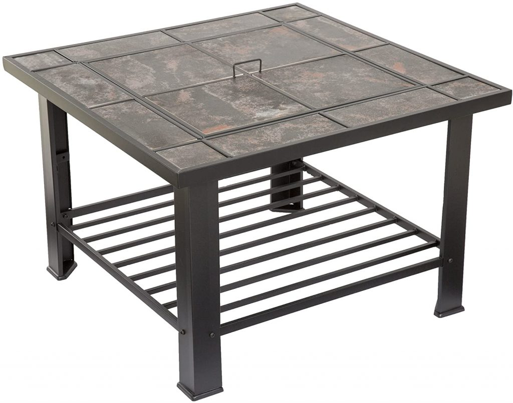 Pure Garden Steel Fire Pit Table Review