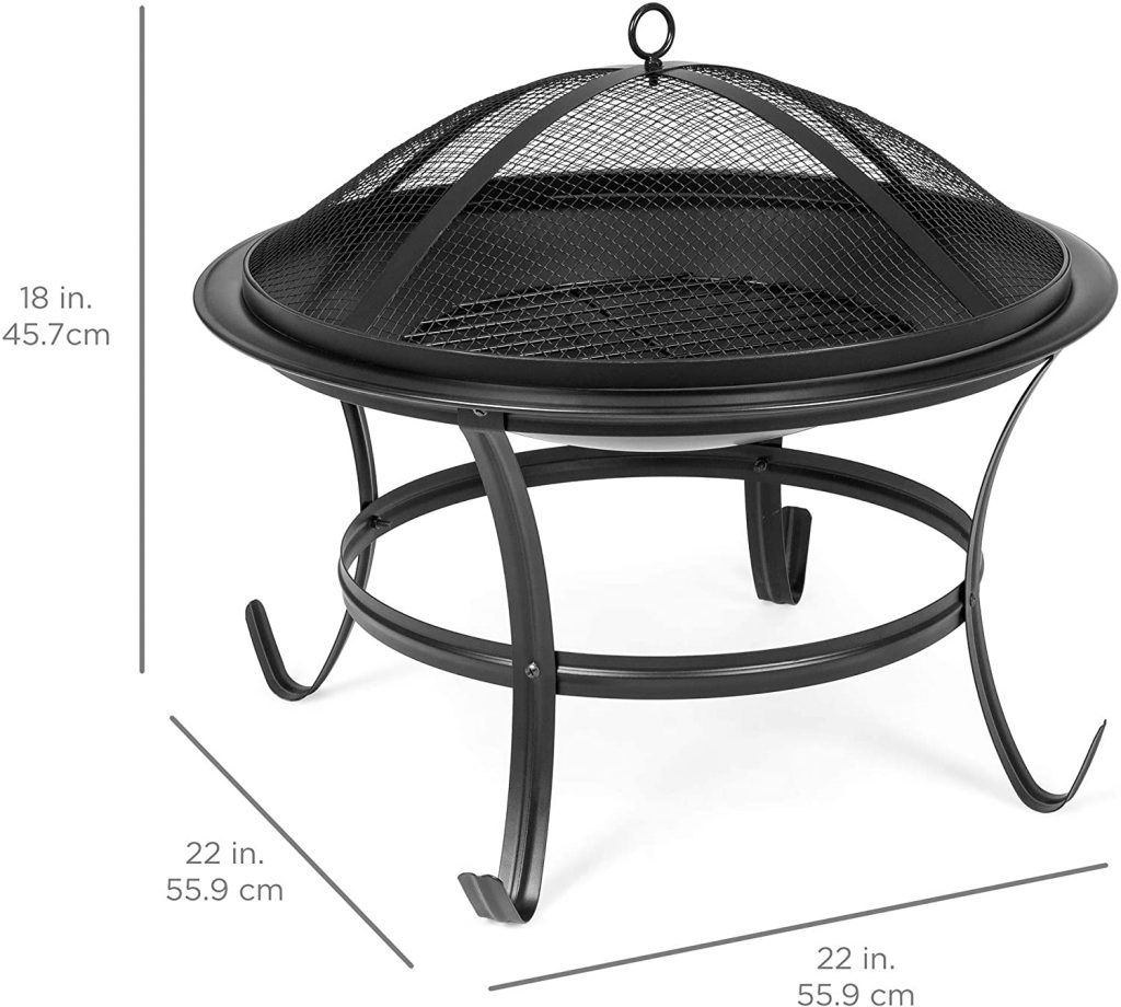 Best Choice Products 22inch Outdoor Patio Steel BBQ Fire Pit Bowl Review