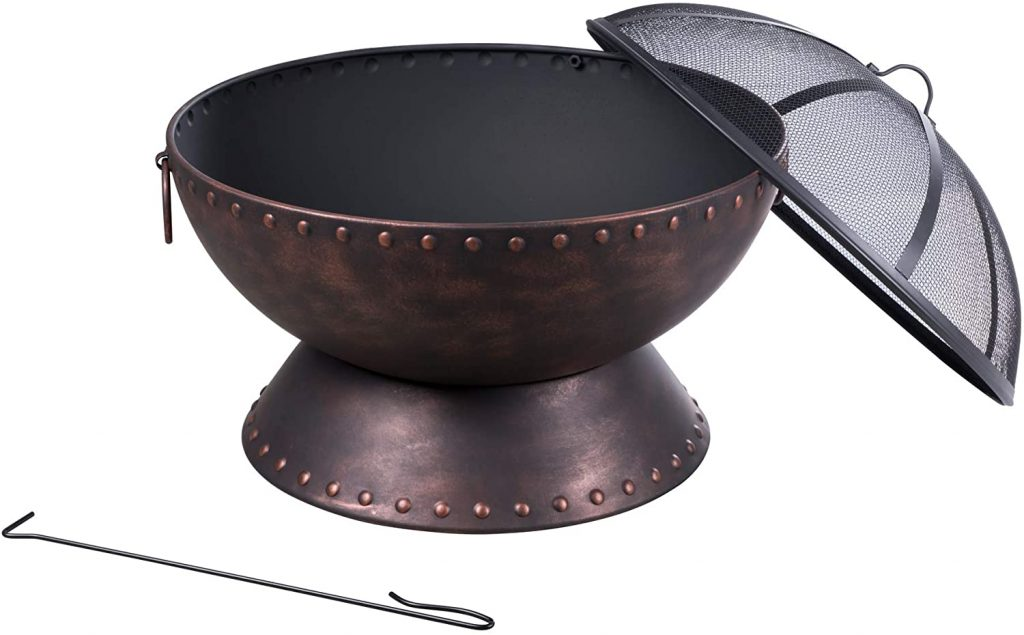 SUNCREAT 26 Inch Firepit Review