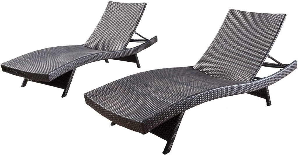 CHRISTOPHER KNIGHT HOME ADJUSTABLE CHAISE LOUNGE